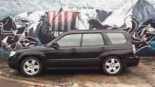 2007 Subaru Forester XT Luxury Black on Black  Mild modifications Leichhardt Leichhardt Area Preview