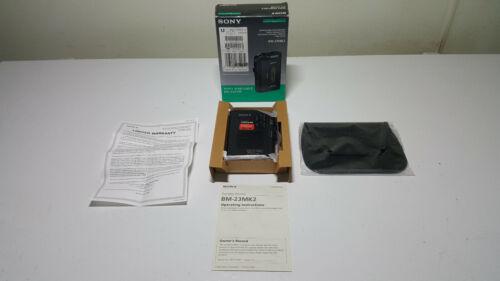 Sony BM-23 Portable Dictator Standard cassette player