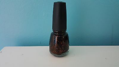 New   China Glaze Fortune Teller Halloween 2009 Glitter Nail Polish
