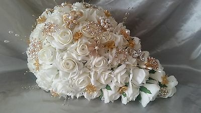 Artificial Bridal Bouquet's