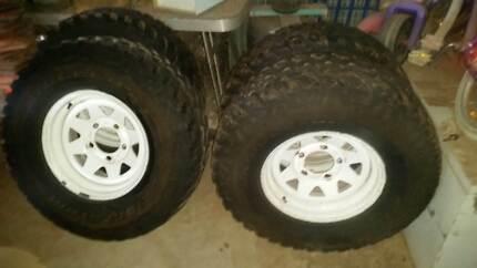 Toyota Landcruiser tyre rim Hillcrest Port Adelaide Area Preview