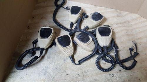 Lot of 6 Motorola HMN Mixed Microphones 1035A