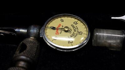 Vintage Starrett No.711 Last Word Style Dial Test Indicator .001 Grad.
