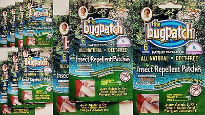10 WEEKS SUPPLY(X60) OF BUG PATCH  INSECT REPELLENT PATCHES NATURAL & WATERPROOF