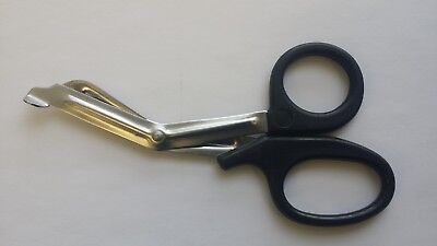 3 Black Paramedic Emt Bandage Nursing Trauma Shears Scissors First Aid 5.50