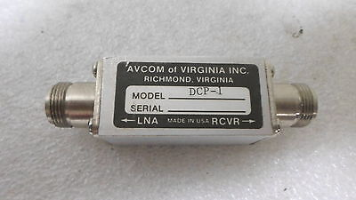 Avcom Of Virgina Dcp-1 Coaxial C-band Dc Power Blockinserter