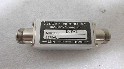 Avcom Of Virgina Dcp-1 Coaxial C-band Dc Power Blockinserter