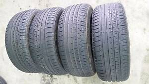 4x ACCELERA PHI 205/50R15 TYRES - Traveled 700km from new Marrickville Marrickville Area Preview