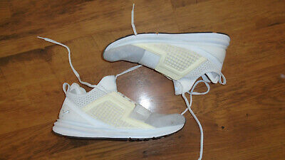Puma Ignite Limitless Knit Trainers White Sz 11