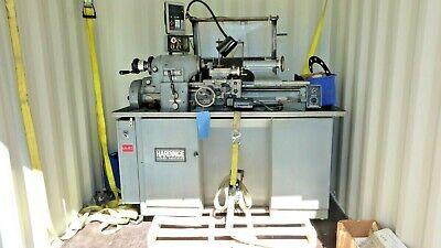Hardinge Hlv-h Super Precision Lathe With Newall C80 Digital Readout System