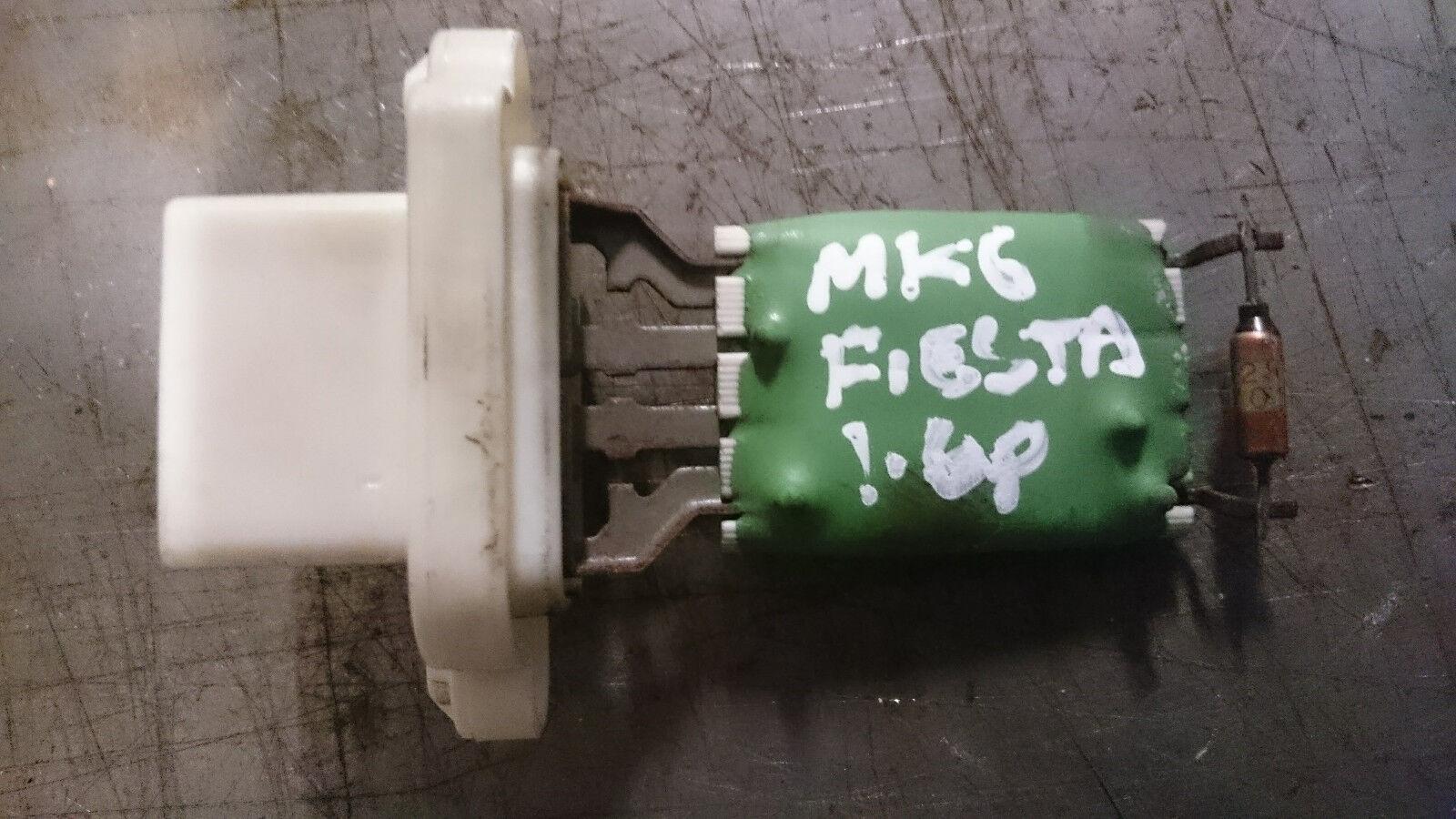 FORD FIESTA MK6 2002 - 2008  HEATER RESISTOR RESISTER