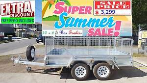 10×6ft Tandem 10x6 ft Box Trailer $3,499 SALE FREE 12Mths REGO Brisbane South West Preview