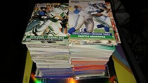 Stack of Football cards