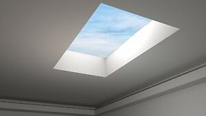 FLAT ROOF SKY LIGHT, ROOF DOME, ROOF WINDOW - 1000x1800mm - Huge SALE - 5 yr wty