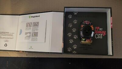 Disney Parks Dooney And Bourke Cats MagicBand LE 2000 Magic Band New Unlinked
