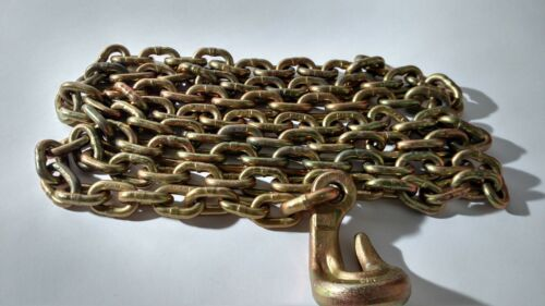 """CM 9/32"""" x 9 ft Aircraft Chain Assembly - 14100 lbs Breaking Strength - #627728"""
