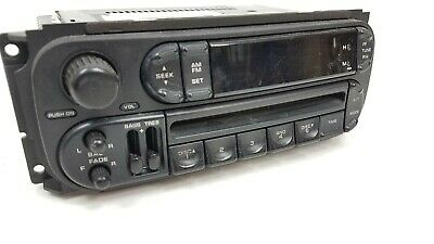 2002-2007 Chrysler Jeep Dodge Radio Stereo Unit AM FM CD Player FACTORY OEM