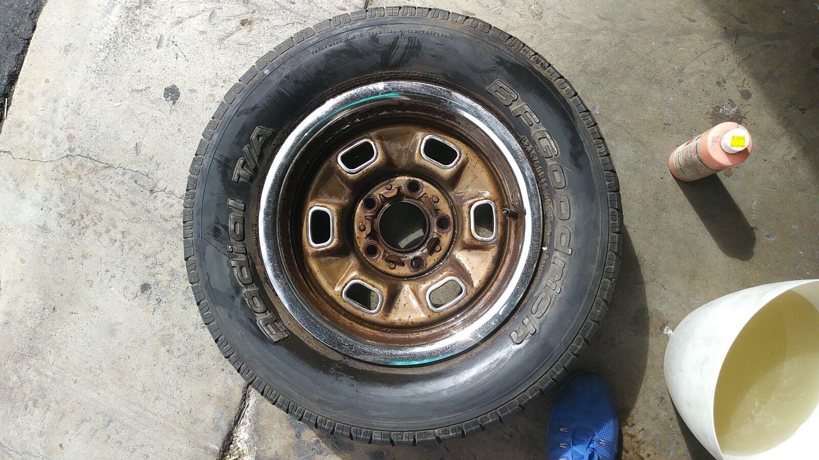 """Wheels Rims Chevy El Camino 70's Vintage 14"""""""