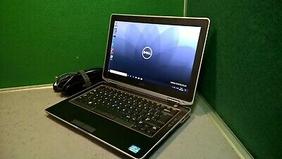 "Dell Latitude E6320 i7 2.8GHZ 8GB Ram 180GB SSD WIFI Webcam 13.3"" Windows 10 Pro"
