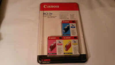 🔥Genuine Canon 3e BCI-3e Color Magenta Yellow Cyan 3 Ink Cartridge OEM - Bci 3 Yellow Ink