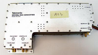 Tektronix 119-1131-05 A23 2nd Converter 829 Mhz 494ap 494a 100 Working