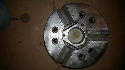 10 Kitagawa 3 Jaw Power Lathe Chuck B-10 Disassembled Cleaned Inspected A8 Moun