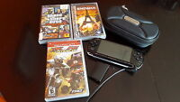 Sony PSP and 3 Games