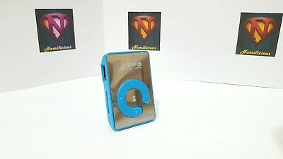 Mini Mirror Style MP3 player & accessories,great sound BLUE- Absolute Bargain