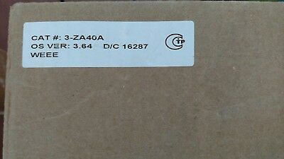 Ge Edwards Est 3-za40a Fire Alarm Zoned Audio Amplifier Brand New In The Box
