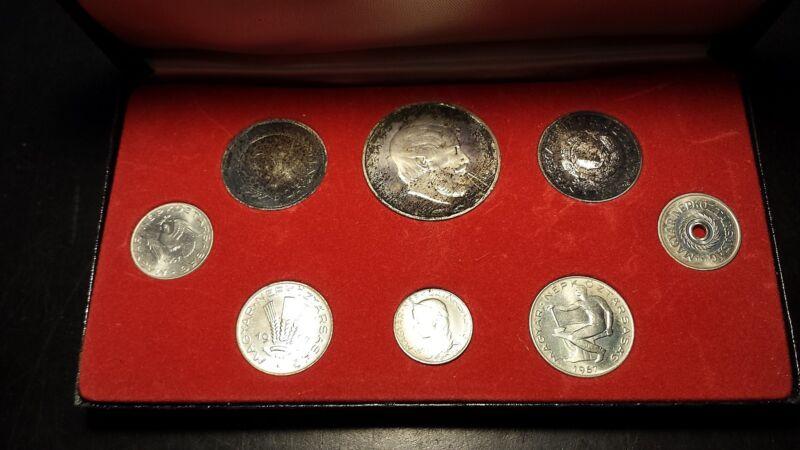 Hungary Magyar 1967 8-Coin Proof Set