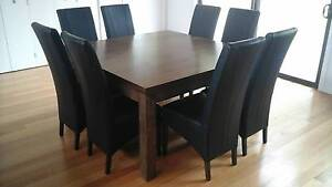 Immaculate Dining Table & 8 Chairs Meeniyan South Gippsland Preview