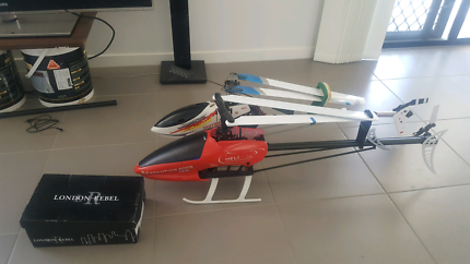 2x rc helicopters