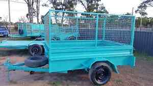 RENT A 8X5 CAGE TRAILER  TODAY BOOK NOW CHEAP Kemps Creek Penrith Area Preview