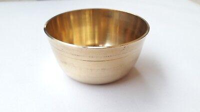 Small Brass Bowls Religious Diwali Navratras Rakhi Bhai Dooj Tika India Hindu
