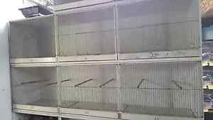 Canary and finch breeding cages Dallas Hume Area Preview