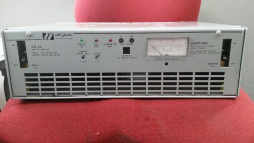 Argus CS-02   PN: 012-002-20   DC-DC Power Converter Fast Shipping!!!