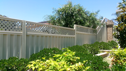 Genuine colorbond fencing from $66/m inc gst
