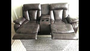Recliner sofa - no scratches no damages