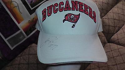 Unknown Original Signed Official Original Tampa Bay Buccanners 'Twins' Hat NFL