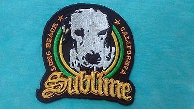 Sublime Lou Dog Long Beach California 3.25 Inch Patch
