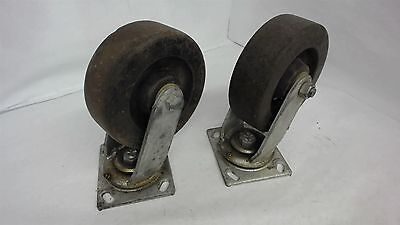 Lot Of 2--6 Inch Caster Wheels