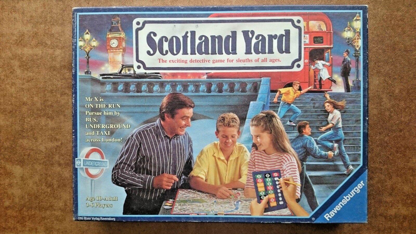 Scotland Yard Game ..By Ravensburger Games 1992