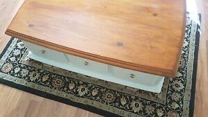 Beautiful timber coffee table
