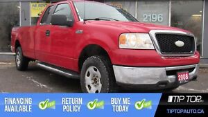 2008 Ford F-150 XL ** No Accidents, Brand New Tires, 5.4L V8 4x4