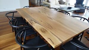 Fabulous Marri Dining Table with steel legs - NEW! Hampton Bayside Area Preview