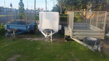 CHEAP TRAILER FOR RENT - 6x4, 8x5 & 10x5 Cage & Enclosed Trailer