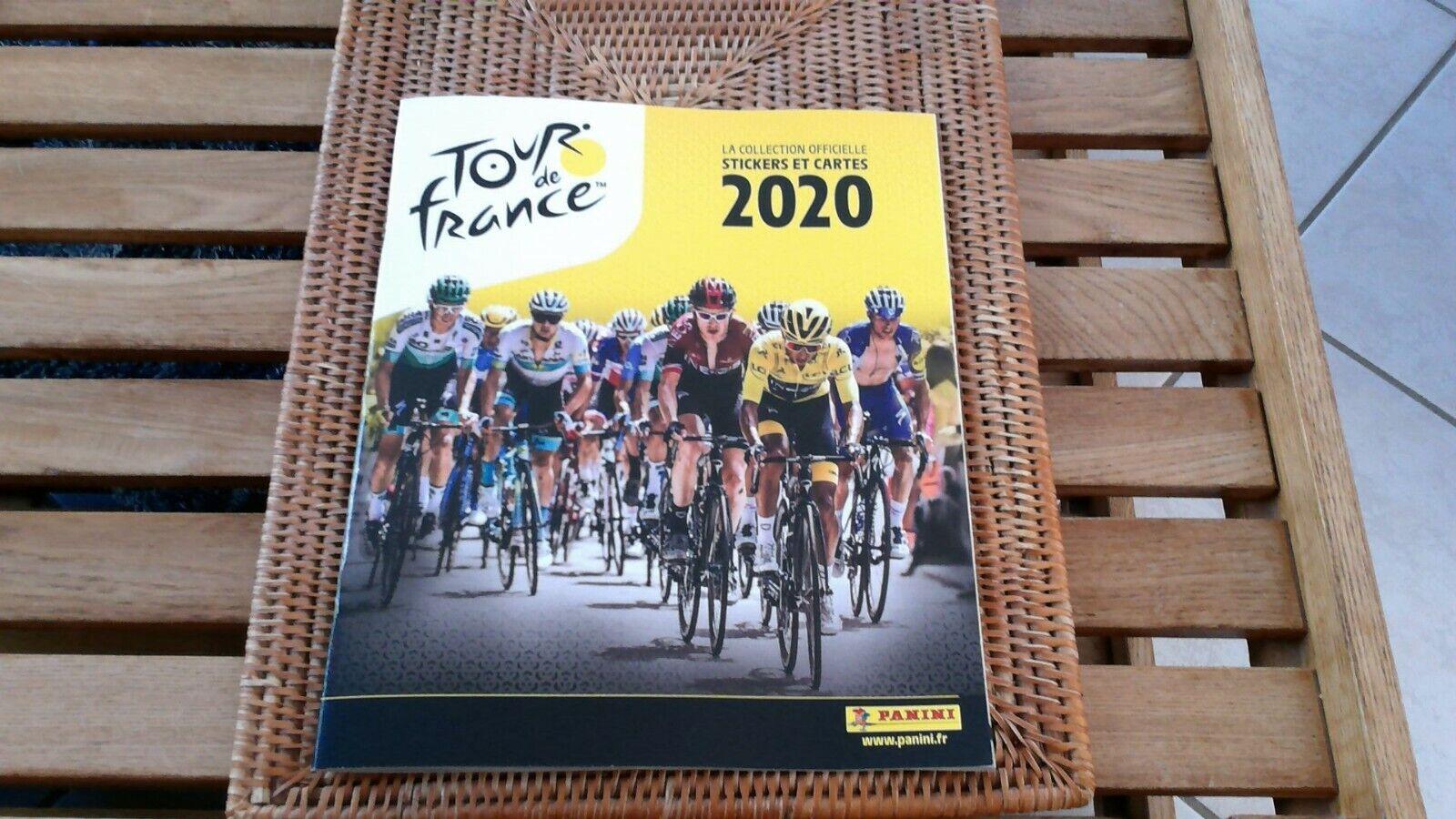 New-album panini tour de france 2020+range carte officiel-pro tour-cyclisme!