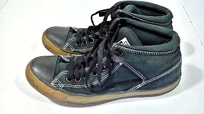 Vintage Converse Chuck Taylor All Star Men's Sz 8 Dark Green and Black High Tops for sale  Akron