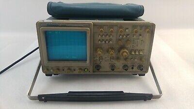 Tektronix 2465 Analog 300mhz 4 Ch Oscilloscope