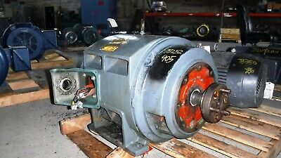 75 Hp Reliance Electric Motor 1200 Rpm 405tsc Frame Dp 460 V
